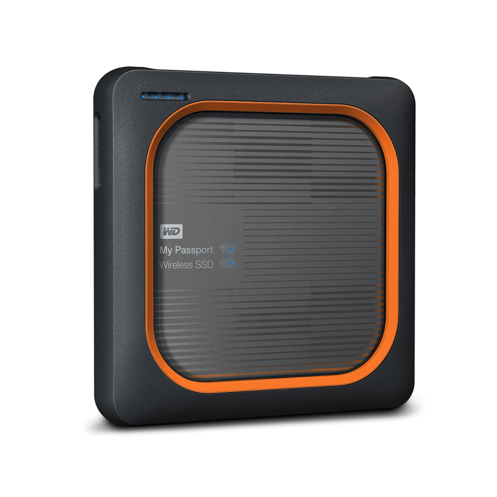 Ổ cứng di động WD My Passport Wireless 2TB SSD