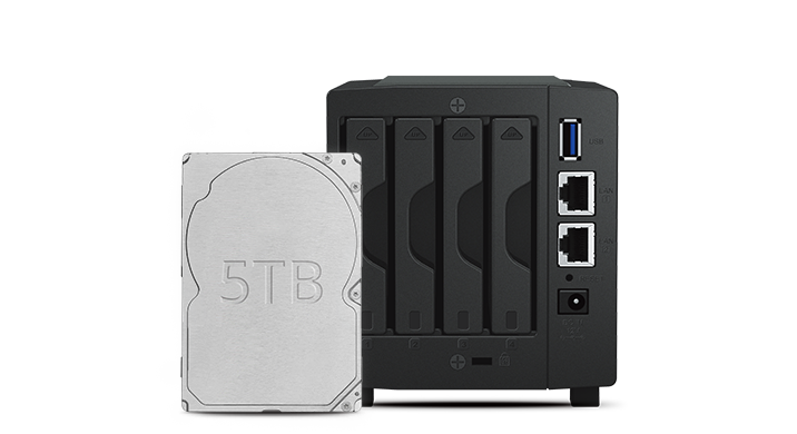 Synology DiskStation DS419slim Nas